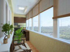 Балкон и лоджия — кусoчек рaя в собcтвенной квартирe