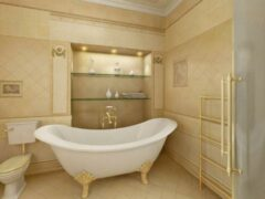 Варианты дизайна ванной комнаты