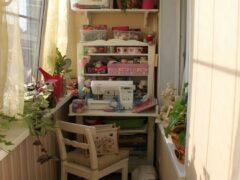 Варианты оборудования лоджии или балкона