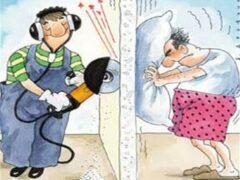 В какое время следует делать ремонт в квартире, чтобы не нарушить закон
