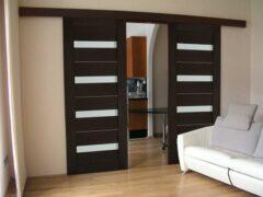 Двери раздвижные межкомнатные — как сделать правильный выбор