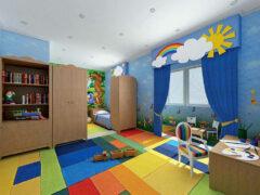 Интерьер детской комнаты — особенности оформления