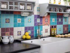 Керамическая плитка для кухни: как подобрать кафель для стен и пола