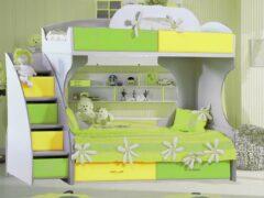 Кровати двухъярусные — решение для небольших детских комнат