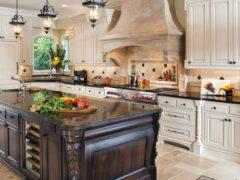 Кухня-классика: фото примеры совершенного дизайна помещения