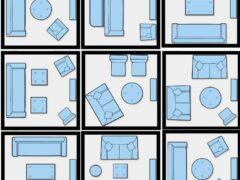 Мягкая мебель в дизайне комнат