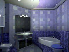 Отделка стен в ванной — что выбрать?