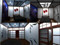 Оформление спальни в японском стиле: нюанс и мелочи