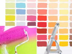 Рекомендации по выбору и нанесению краски для стен и потолков