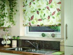 Рулонные шторы на пластиковые окна — альтернатива жалюзи