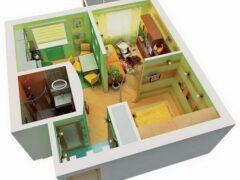 Что можно сделать в однокомнатной квартире