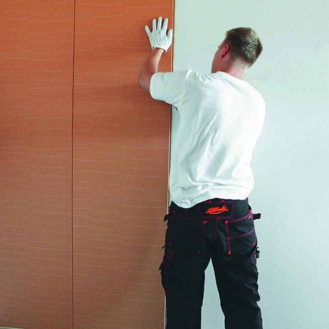 Шумоизоляция декоративными панелями
