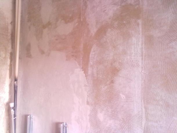 Подготовка стены к оклейке