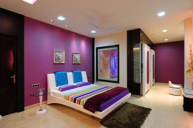 Цветовая гамма интерьера, построенная на нюансах и контрастах