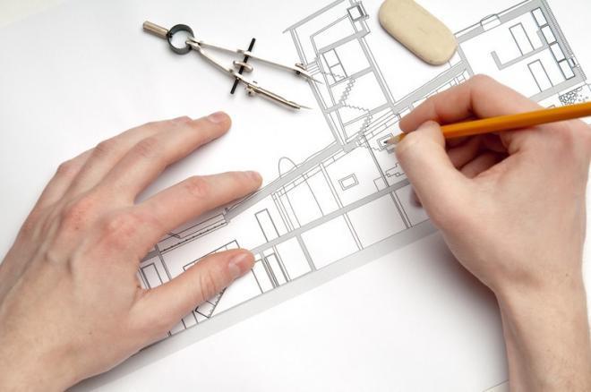 Зарисовываем план квартиры