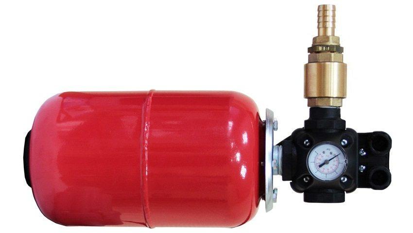 Комплект автоматики с обратным клапаном для погружного насоса