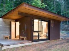 Бытовки дачные двухкомнатные с туалетом и душем: создаем комфортные условия