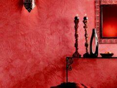 Декоративная штукатурка, фото в интерьере и описание возможностей