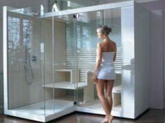Душевые кабины: размеры и цены, фото оформления ванных комнат
