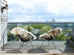 Интересные идеи отделки балконов, фото и выбор материала