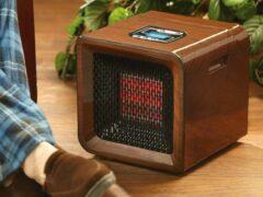 Инфракрасные обогреватели с терморегулятором для дачи: характеристики и выбор