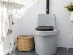 Какой торфяной туалет для дачи лучше приобрести