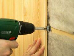 Как крепить панели ПВХ к стене и потолку различными способами