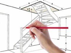 Как рассчитать лестницу на второй этаж: основные параметры расчета. Особенности сложных конструкций