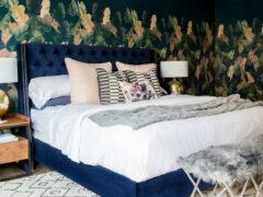 Обои в спальне: фото в интерьере и рекомендации по созданию дизайна