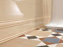 Плинтус для ванной комнаты: обзор напольных и потолочных моделей