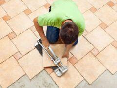 Плитка на пол для коридора и кухни: фото, советы по выбору и укладке