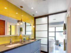 Потолок в ванной комнате: какой выбрать материал для его оформления