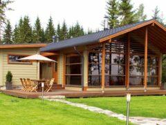 Пристройка к деревянному дому. Проекты и основные типы пристроек