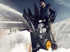 Ручной снегоуборщик: особенности конструкции и применения