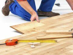 Укладка ламината на бетонный пол с подложкой: полная технология монтажа покрытия