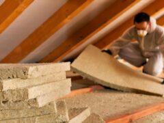 Утепление потолка в доме с холодной крышей: распространенные методы
