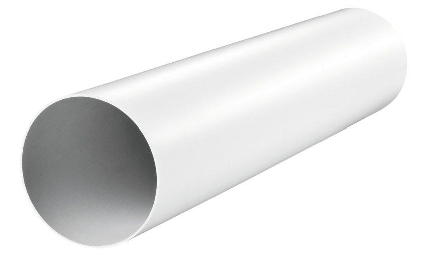 Круглая вентиляционная труба из поливинилхлорида (ПВХ)