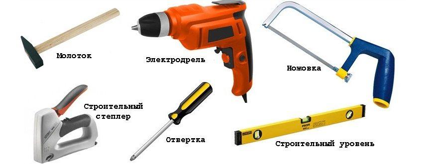 Инструменты, необходимые для самостоятельного монтажа пластиковых панелей