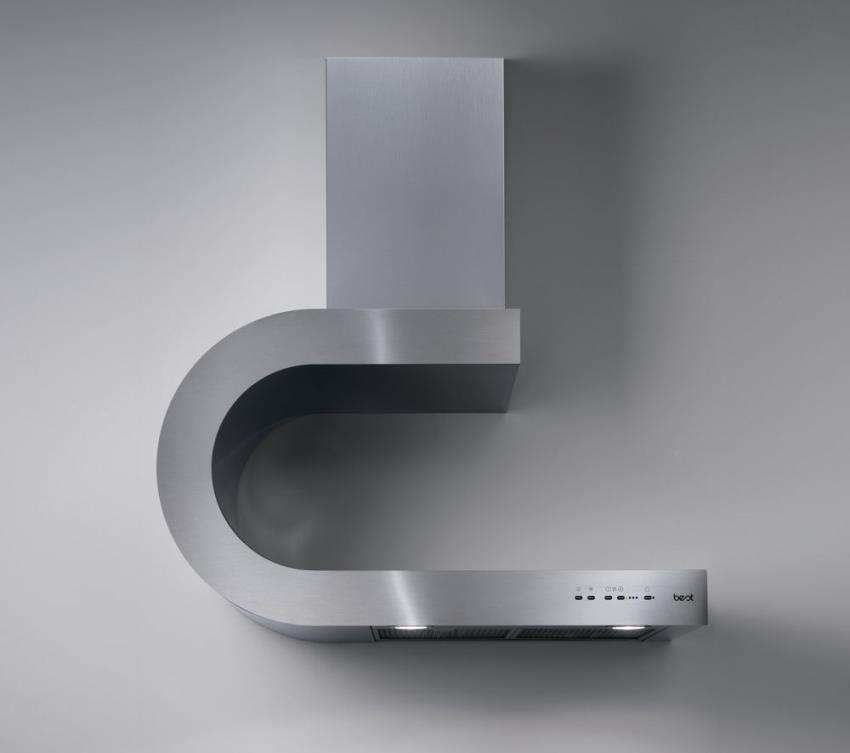 Вытяжка с современным дизайном может стать ключевым элементом интерьера кухонного пространства