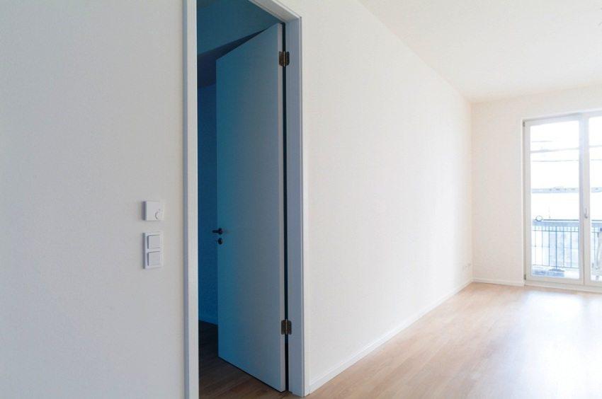 Межкомнатная перегородка из ГКЛ с дверным проемом