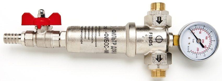 Магистральный фильтр Фибос-мини с пропускной способностью 300 л/ч