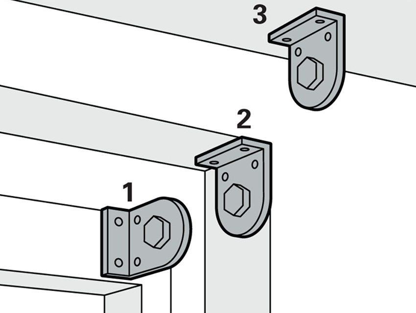 Шаг 1: выбор места установки и крепления - на оконную раму, внутри проема, к потолку