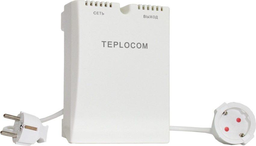 Стабилизаторы напряжения Teplocom разработаны для использования в системах отопления