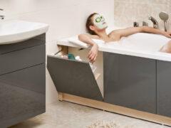 Экран для ванны: фото лучших моделей и нюансы монтажа