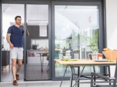 Москитная сетка на двери: многофункциональный элемент защиты помещения