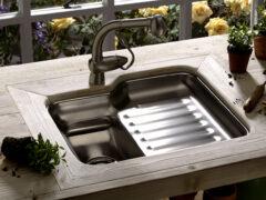 Умывальник дачный с подогревом воды: комфорт в любое время года