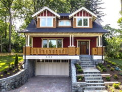 Проекты домов с цокольным этажом: варианты и планирование
