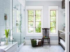 Дизайн ванной комнаты с душевой кабиной: нетривиальные вариации оформления