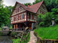 Дома в стиле фахверк – отражение средневековья в современном мире