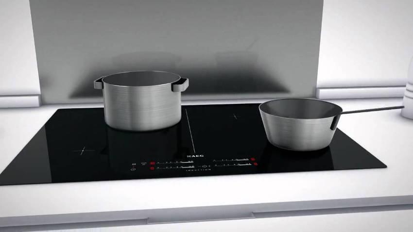 Любая поверхность индукционной плиты имеет возможность плавной регулировки уровня мощности